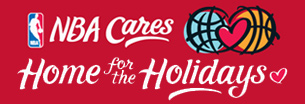 NBA Cares Home for the Holidays