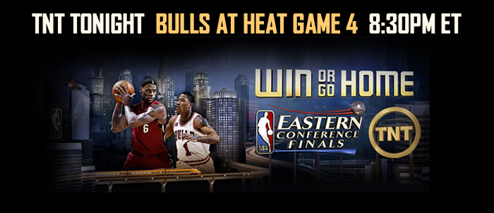WATCH BULLS/HEAT GAME 4 TONIGHT!