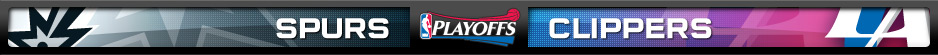 San Antonio Spurs vs. Los Angeles Clippers: