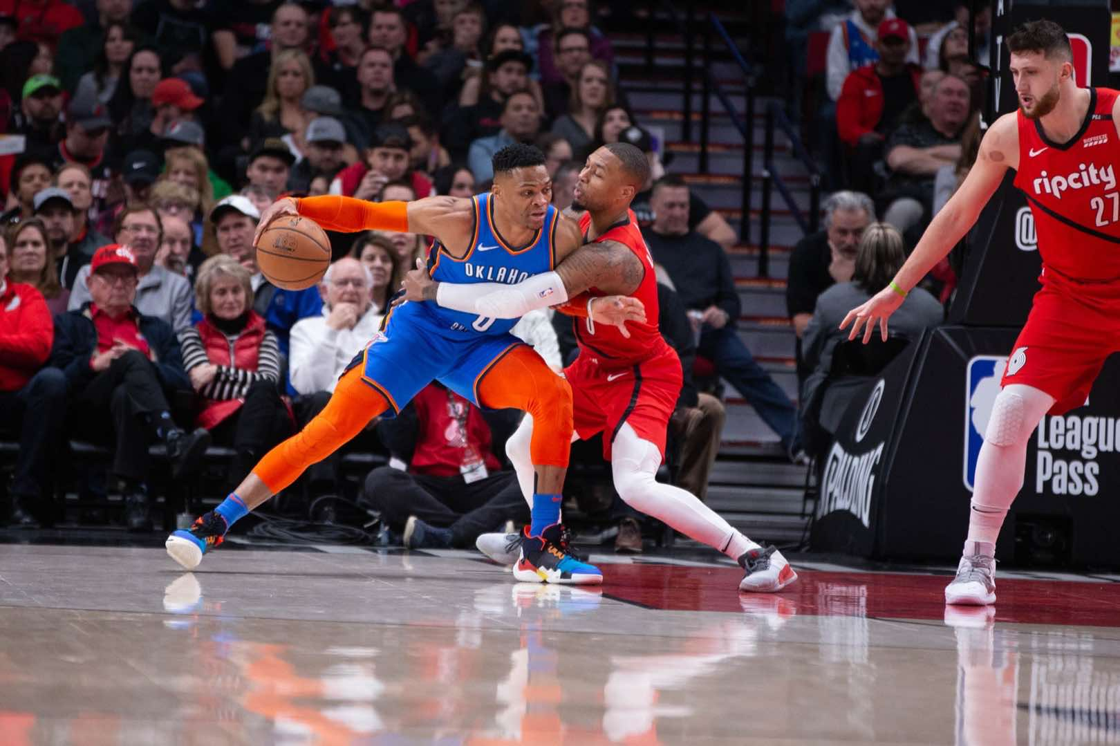 PHOTOS » A look back at Blazers vs. Thunder | Portland ...