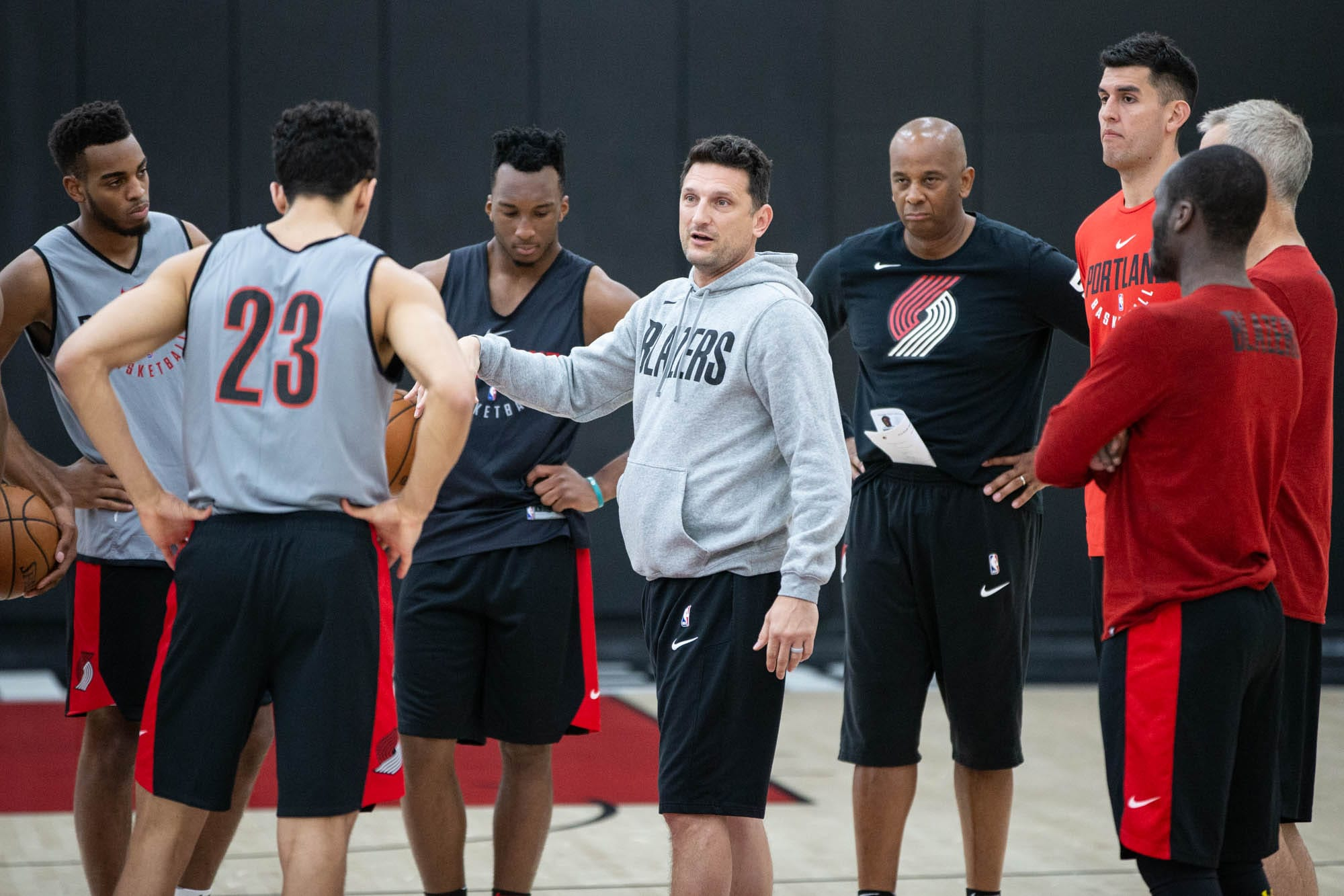 best sneakers 83de7 ffe6c PHOTOS > Draft workouts continue at practice facility ...