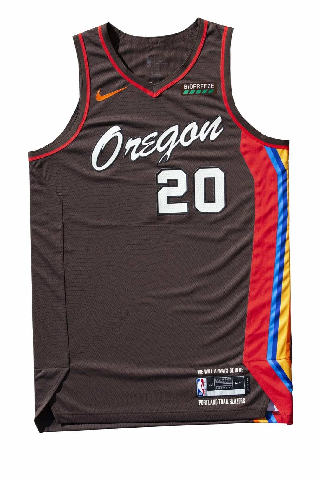 Take a look at the 2020-21 City Edition uniform, celebrating the spirit of Oregon.