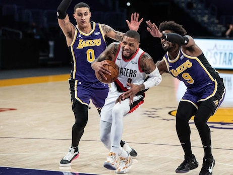 PHOTOS » Trail Blazers 93 vs. Lakers 102 on February 26, 2021