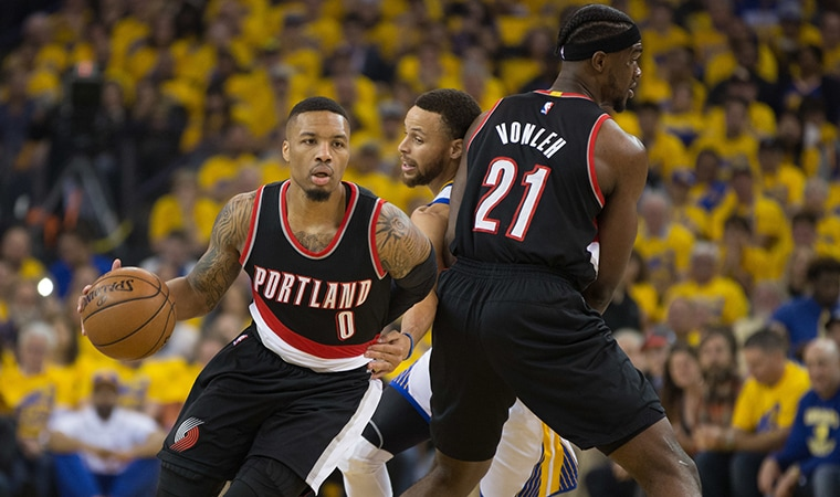 Trail Blazers Begin Cross-Country Trek With Only Visit To Golden State