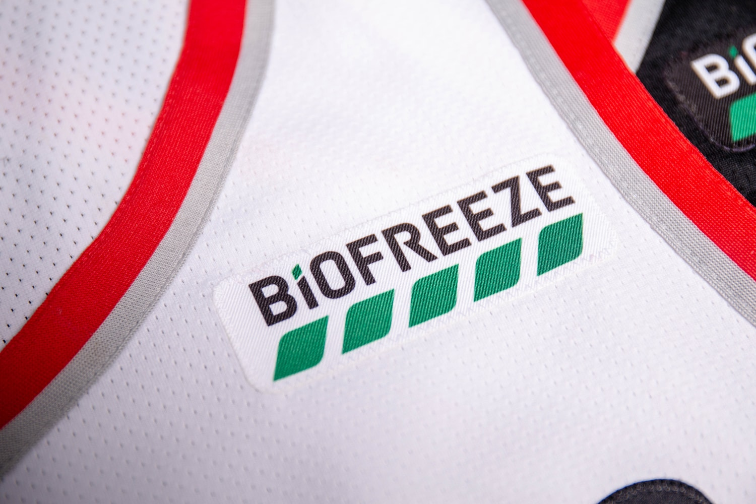 4fbb22571bf Images of the new Biofreeze jersey patch
