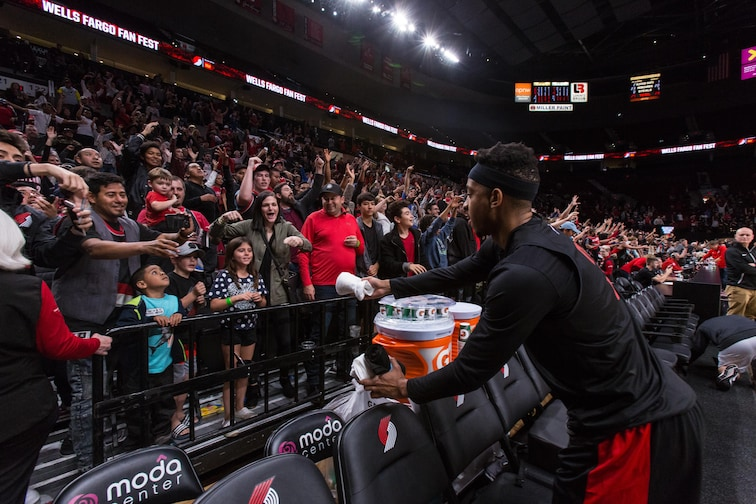 new concept c73be 32345 Trail Blazers Fan Fest Set for Sunday, October 6 at Veterans ...