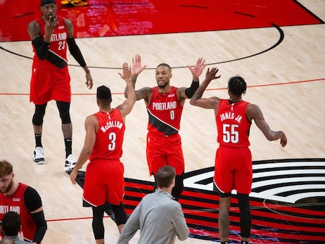 PHOTOS » Trail Blazers 128 vs. Rockets 126 on December 26, 2020