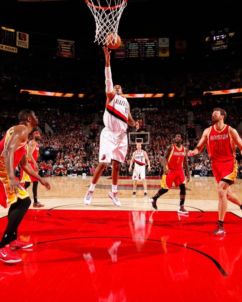 Portland Blazers Lineup: Photos: Trail Blazers Vs. Rockets