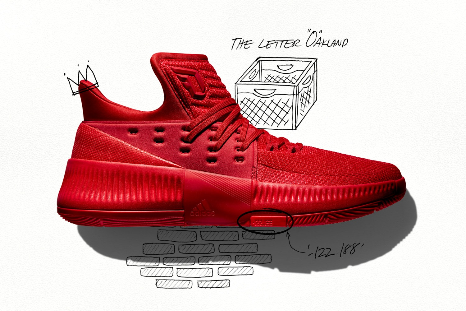 half off 4c28f 1587d Adidas releases the first three colorways of the third iteration of Damian  Lillard s signature sneaker,