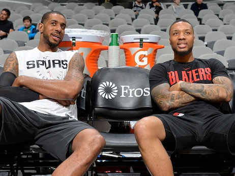 Lillard, Stotts Look Back On Time With Aldridge After His Abrupt Retirement