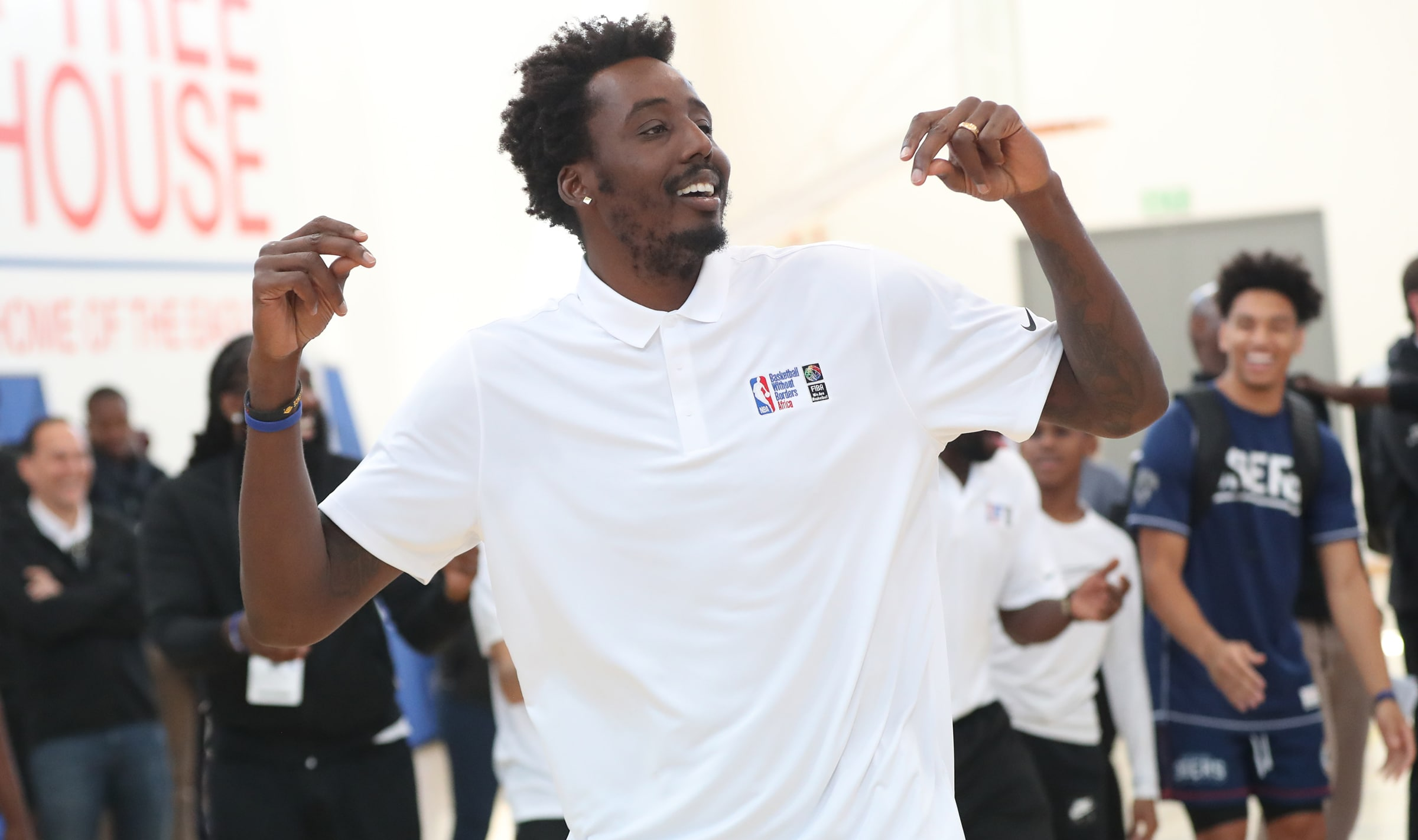 Aminu And Team Africa Fall To Team World In 2018 NBA Africa Game