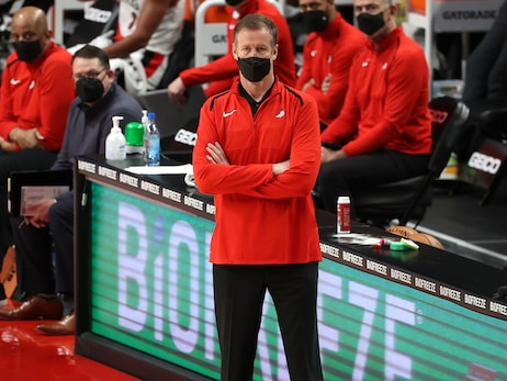 Trail Blazers Ride First Quarter Versus Rockets For Stotts' 400th Win