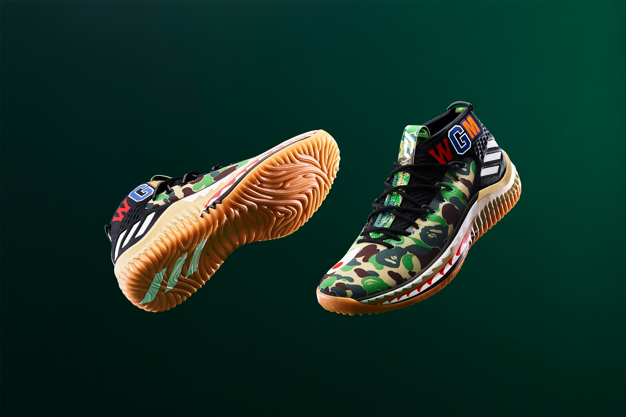 2f1ca3953836 BAPE Colorways Of Damian Lillard s 2018 NBA All-Star Sneakers ...