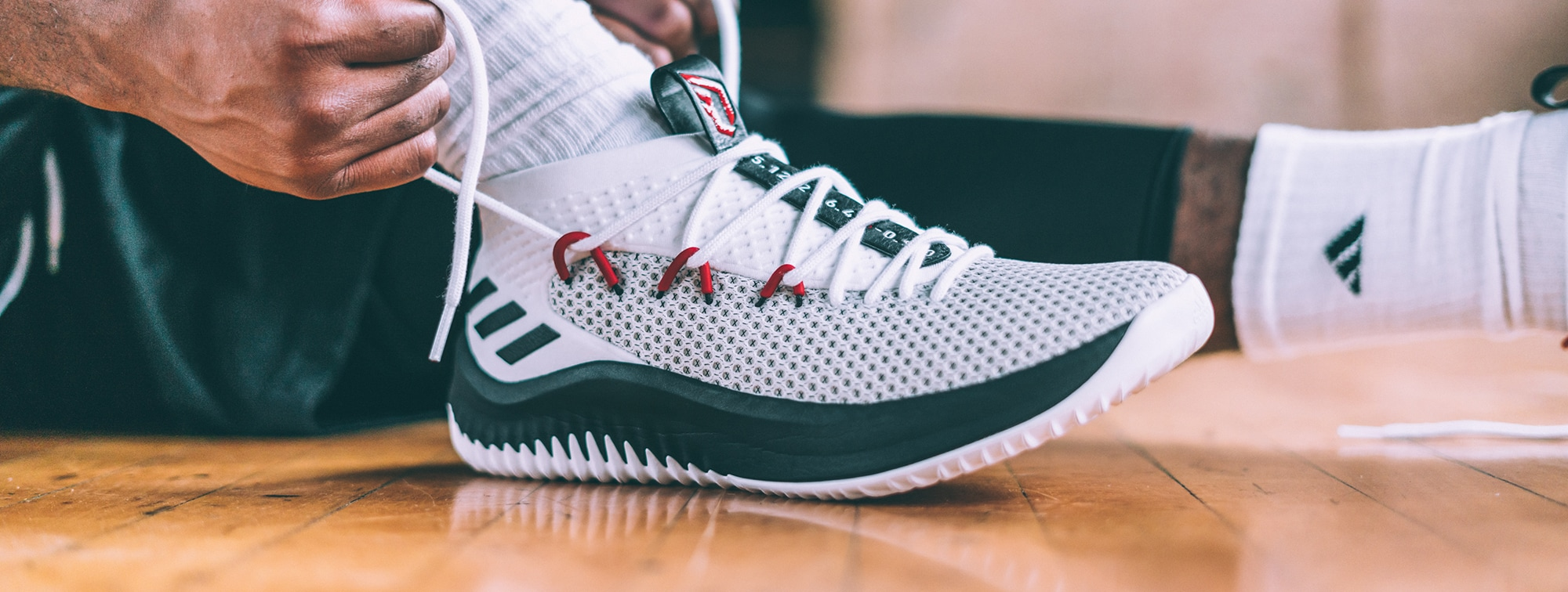 sale retailer f7534 9243f Adidas Releases Damian Lillards Fourth Signature Sneaker, The Dame 4   Portland Trail Blazers