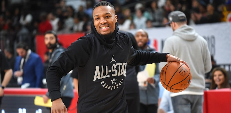 Lillard Named To Fourth All-Star Team In The 'Easiest Call