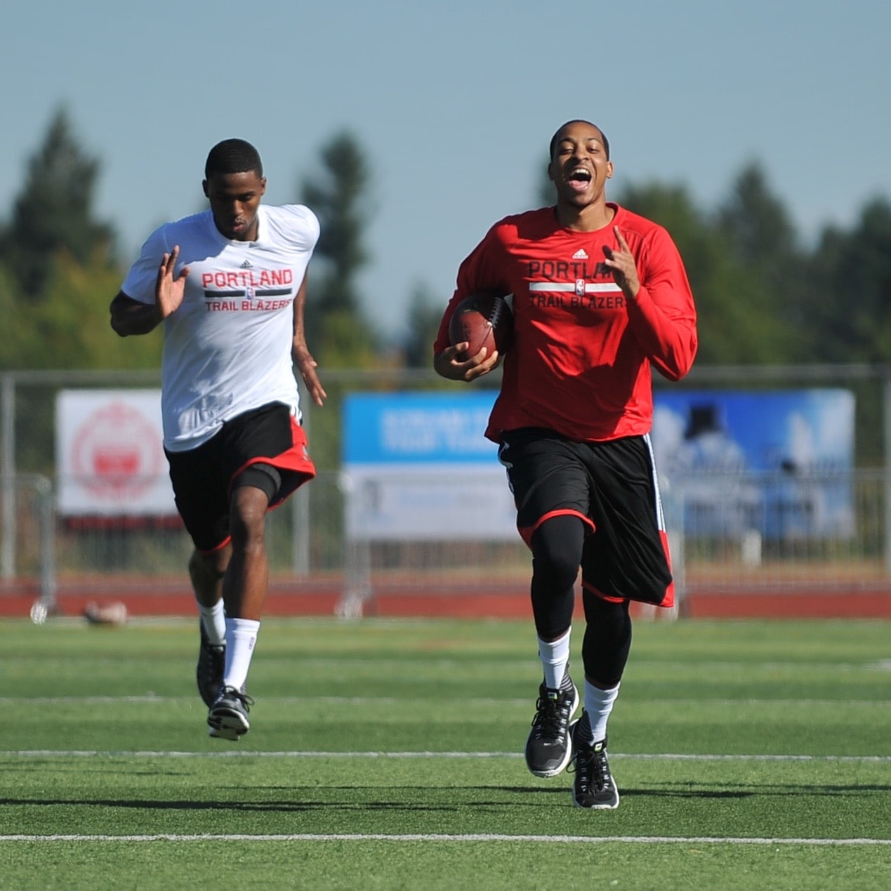 Blazer Team Roster 2013: Photos: Players Tackle Local Football Field