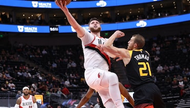 HIGHLIGHTS » Blazers Beat Jazz for Fifth Straight Win