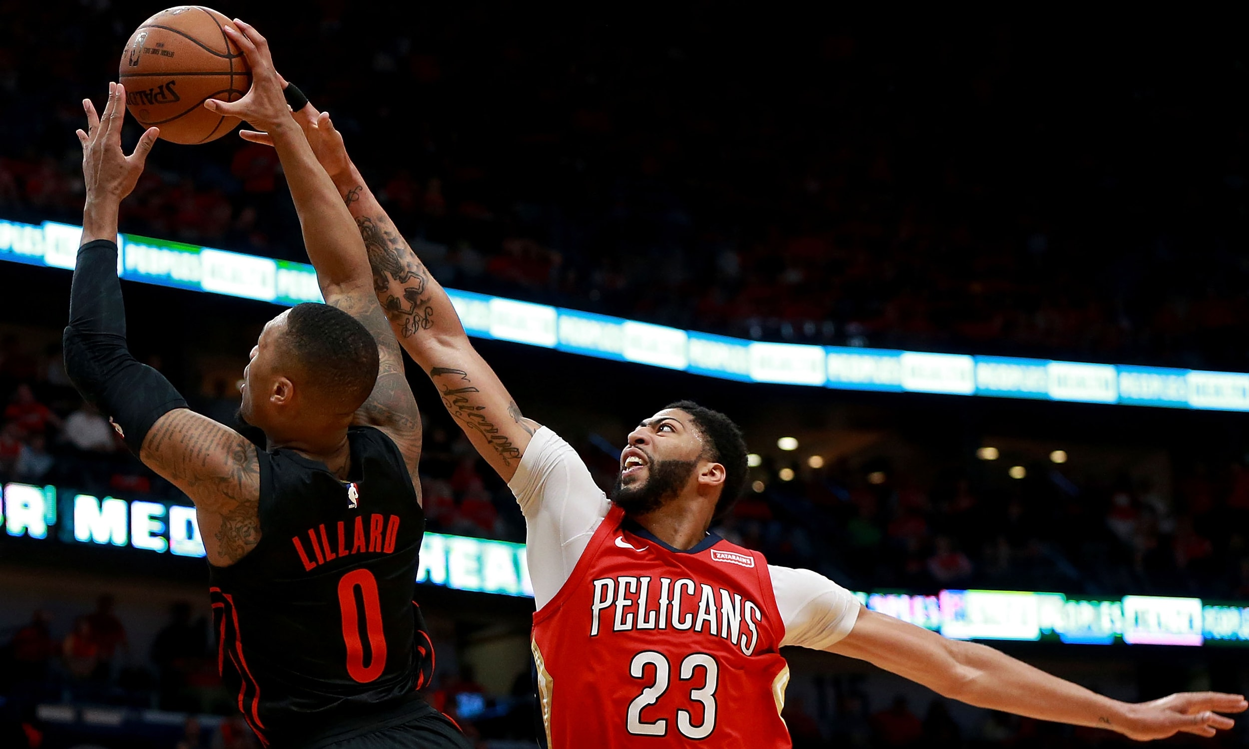 Pelicans Push Series Lead to 3-0