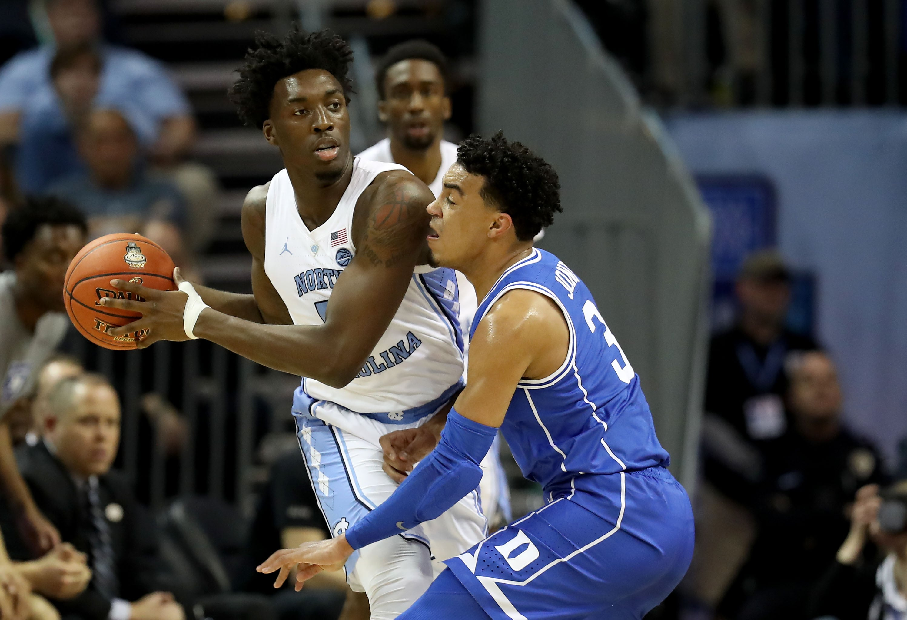 separation shoes 30df3 1378f PHOTOS » Nassir Little At North Carolina | Portland Trail ...
