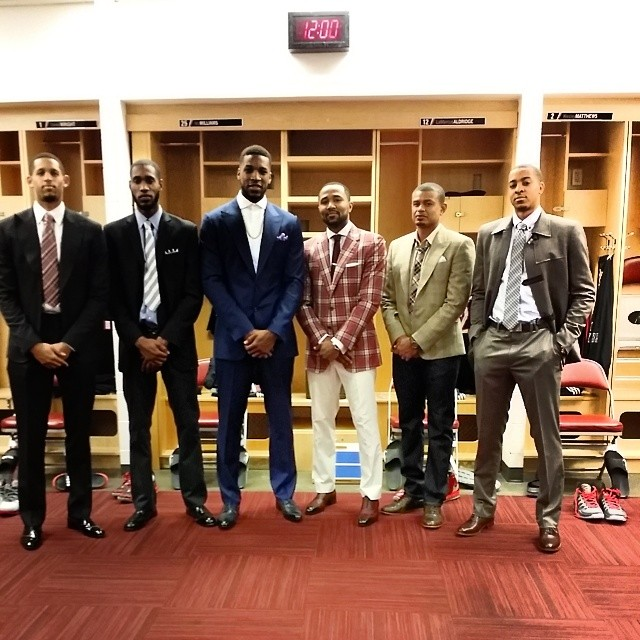 Blazers In Suits: April 20, 2014