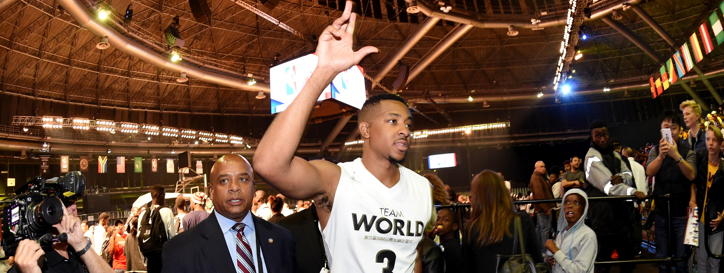 VIDEO: CJ McCollum Returns From Africa Promptly Heads To The Gym To Play Pickup