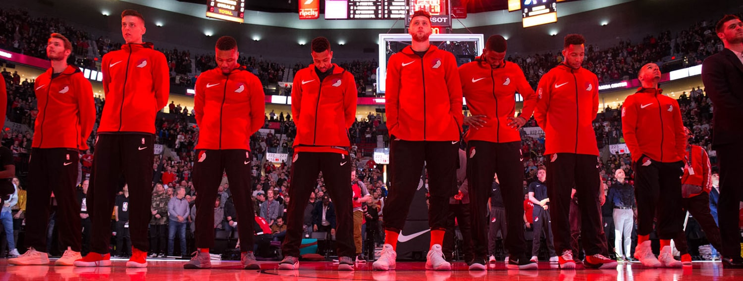 Playoff Update: Standings, Schedules And Tiebreakers With 14 Games To Play   Portland Trail Blazers