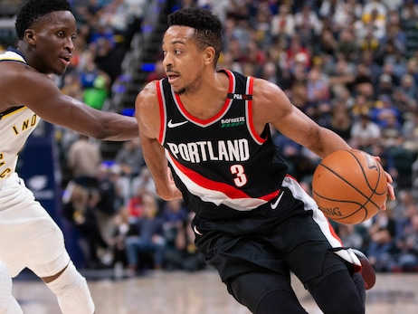 Trail Blazers Host Pacers On 90's Night