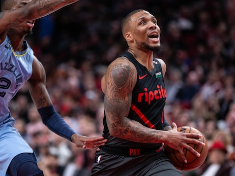 Blazers Face Grizzlies For First Time This Season In Last Game Before Break