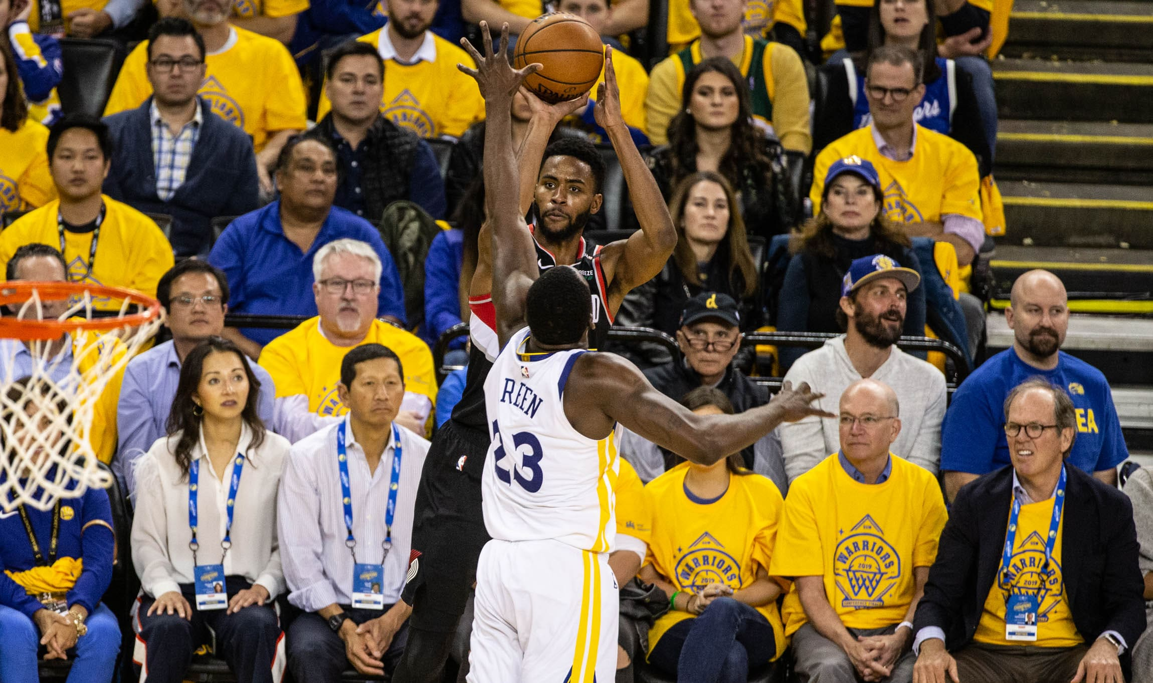 e04495d951db WESTERN CONFERENCE FINALS GAME 2 PREVIEW  (3) Portland Trail Blazers vs.  (1) Golden State Warriors