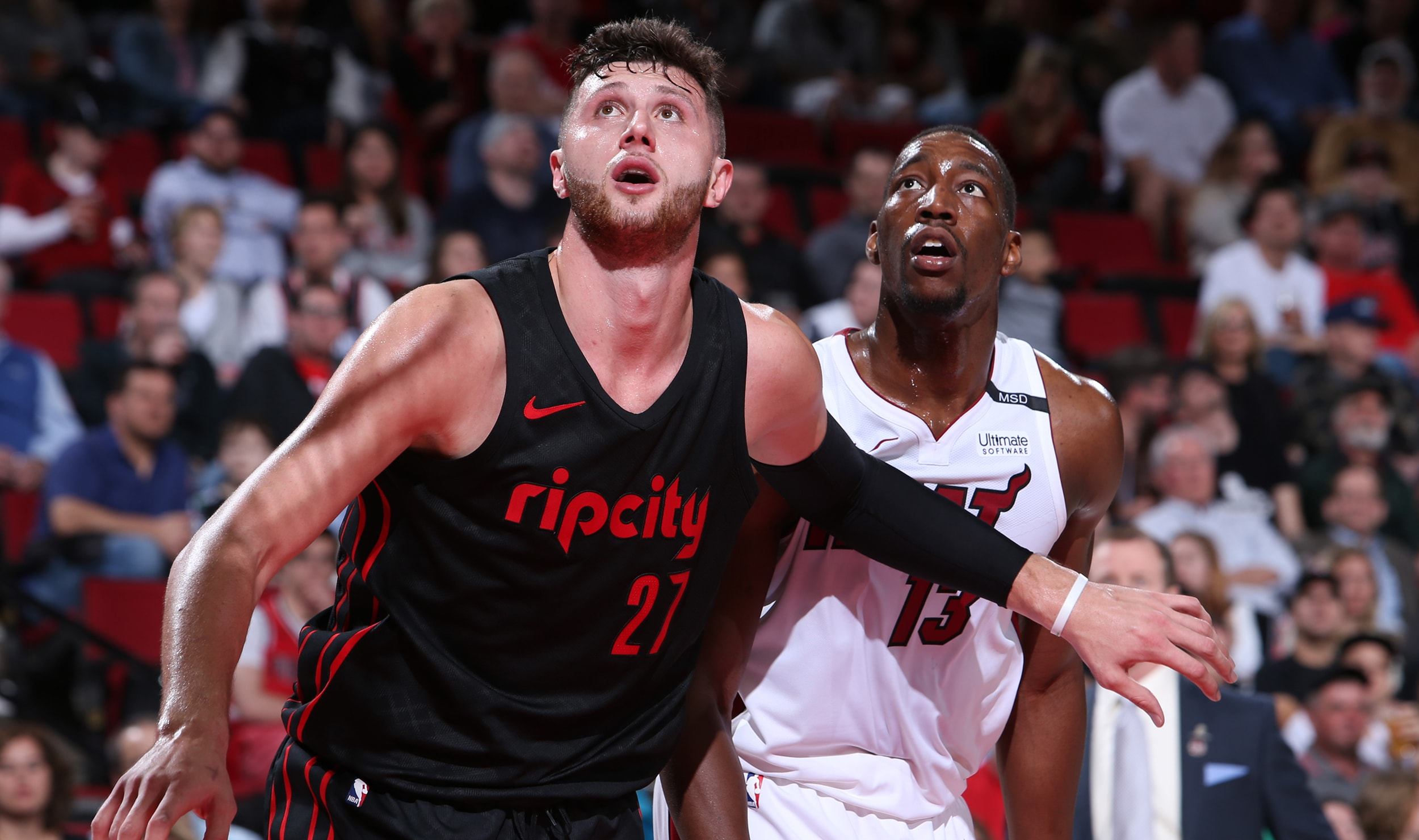 Trail Blazers Try For The Florida Sweep Saturday Night In Miami