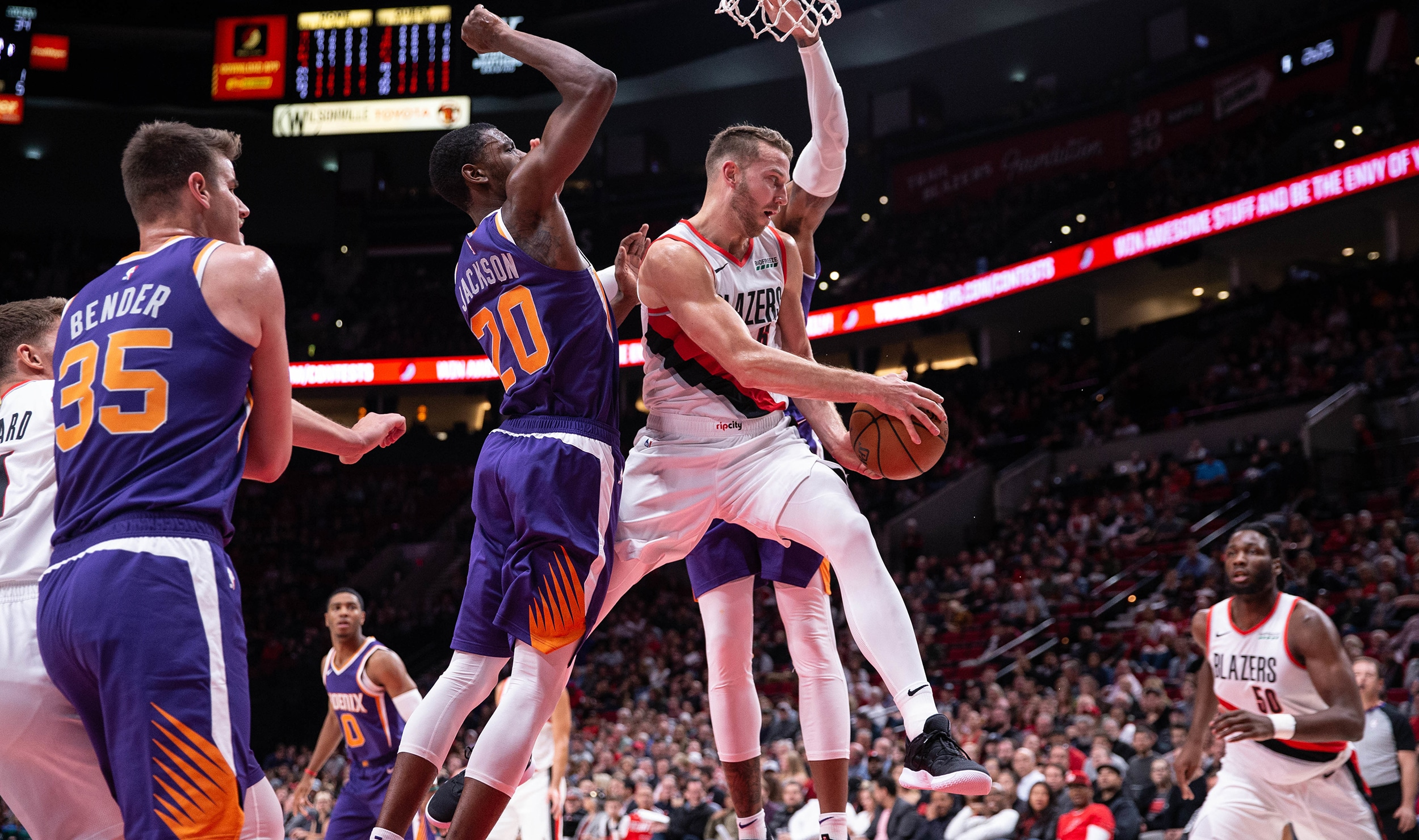 Trail Blazers Return From Winless Trip To Host Suns