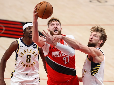 Blazers Lose Game To Pacers, Nurkic To Injury