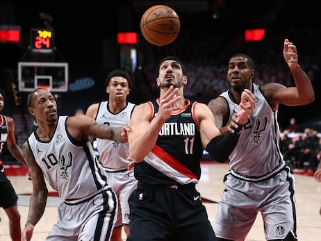 Spurs Take Over In Fourth To Best Trail Blazers At Home