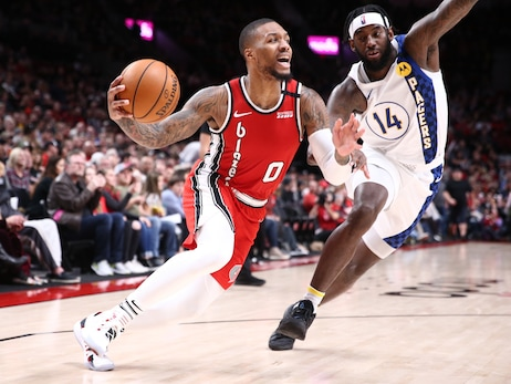 Lillard Puts Up 50 Yet Again To Lead Blazers Past Pacers