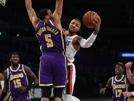Blazers Finish Trip 0-3 With Loss To Lakers