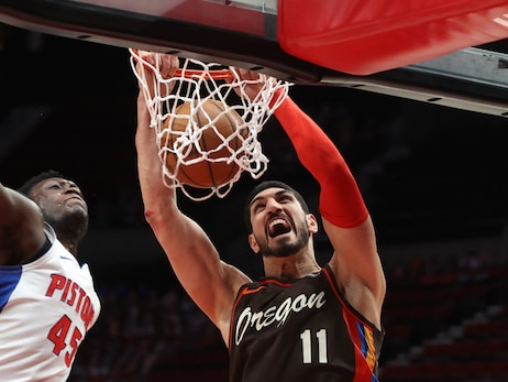 Kanter Sets Franchise Records In Rebounding In Win Versus Pistons