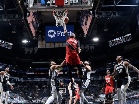 Blazers Rally Behind The Bench And Defense To Defeat Spurs Without Dame