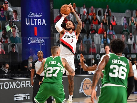 Trail Blazers Overcome Poor First Half But Still Fall To Celtics