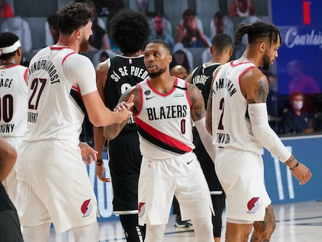 Lillard Leads Trail Blazers To Eight-Seed, Play-in Game With Win Versus Nets In Restart Finale