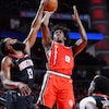 Trail Blazers Split Texas Portion Of Trip With Loss To Rockets