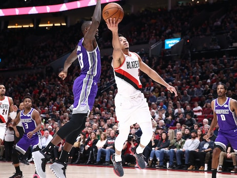 Trail Blazers Outlast Kings To Start Homestand