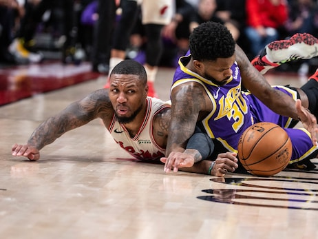 Trail Blazers Lose Game To Lakers And Hood For The Season