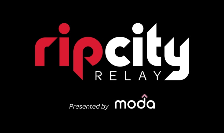 Trail Blazers and Moda Hit the Road September 11-15 for Fifth Annual Rip City Relay