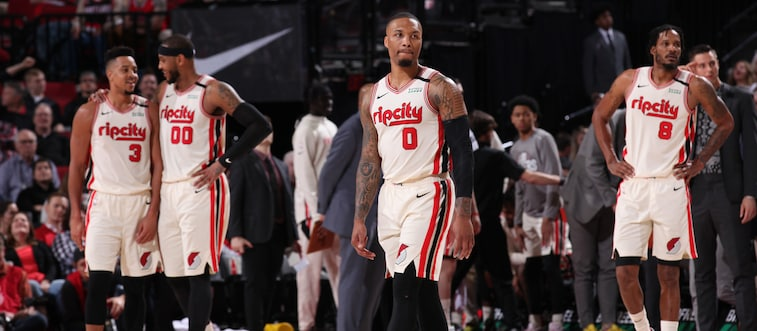 Portland Trail Blazers Trail Blazers To Play in 22-Team Restart In Orlando With A Chance ...