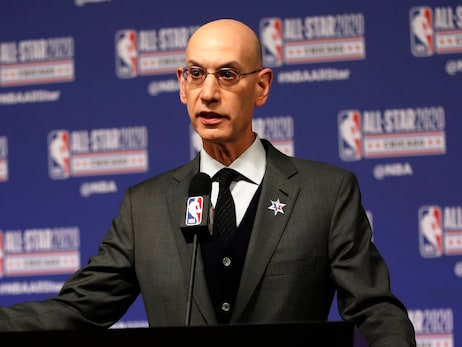 Commissioner Adam Silver Discusses Season Postponement