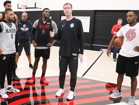 After Months Of Social Distancing, Trail Blazers Prepare To Return To Contact Practice