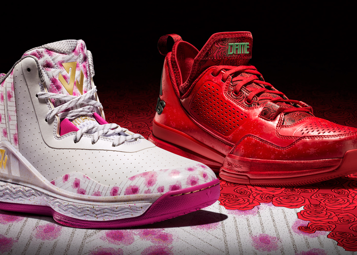 c664803e6ab Adidas Releases All-Red D Lillard 1 As Part Of  Florist City  Pack ...