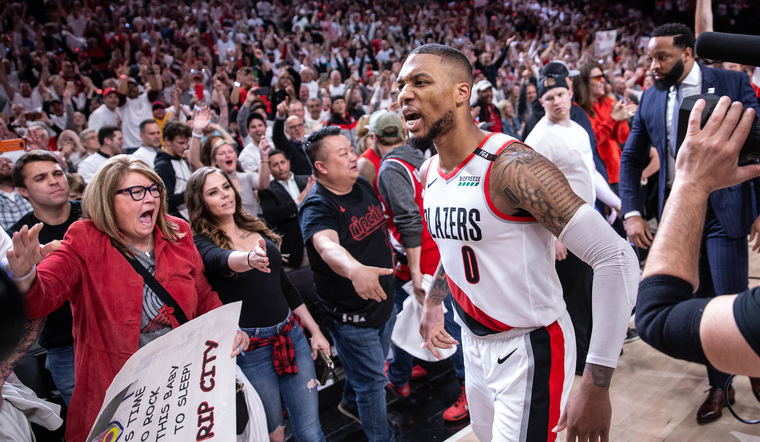 Damian Lillard Named to All-NBA Second Team
