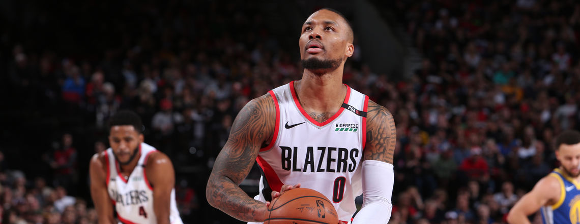 DESPITE INJURY AND SERIES DEFICIT, LILLARD INSISTS TRAIL BLAZERS HAVE  'A LOT TO PLAY FOR'