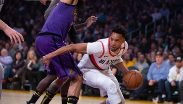 PHOTOS » Lakers 126, Trail Blazers 117